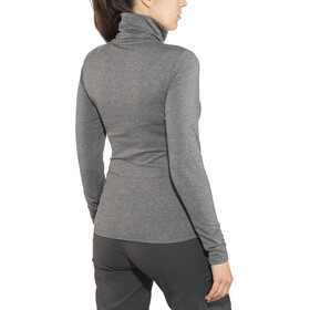Craft Essential Warm Sweat-shirt à col roulé Femme, dk grey melange